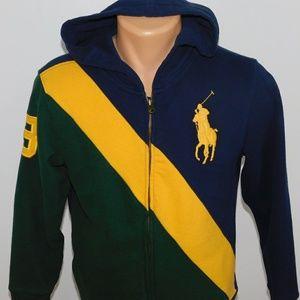 Polo Ralph Lauren full zip hoodie. L (14-16)